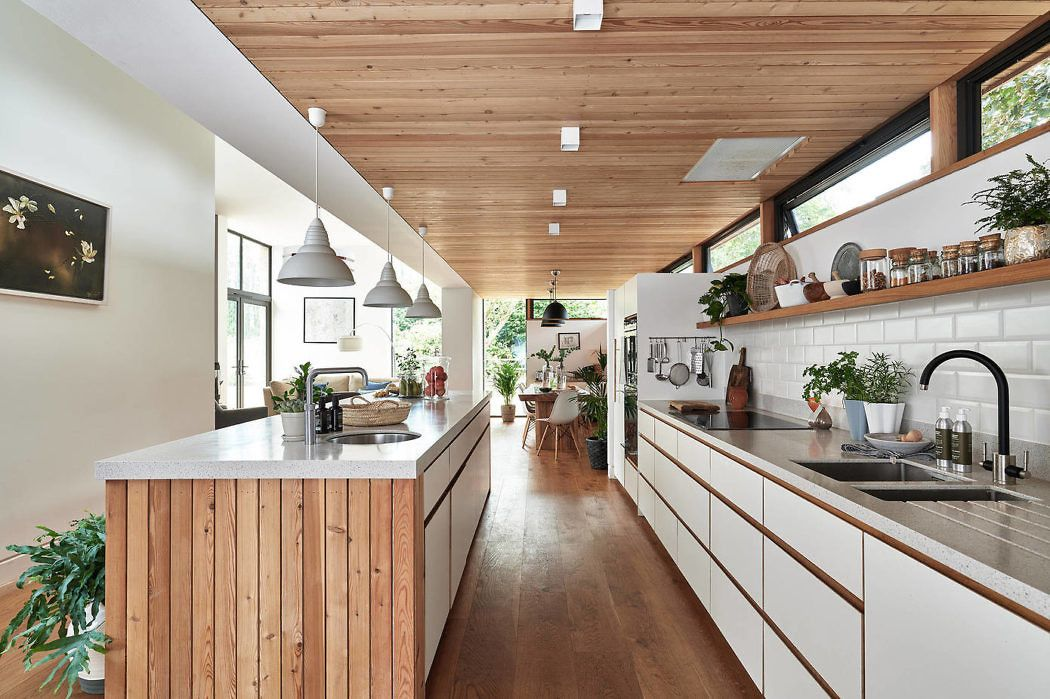 clive and jeanne s house by joma architecture homeadore kitchen rh pinterest com