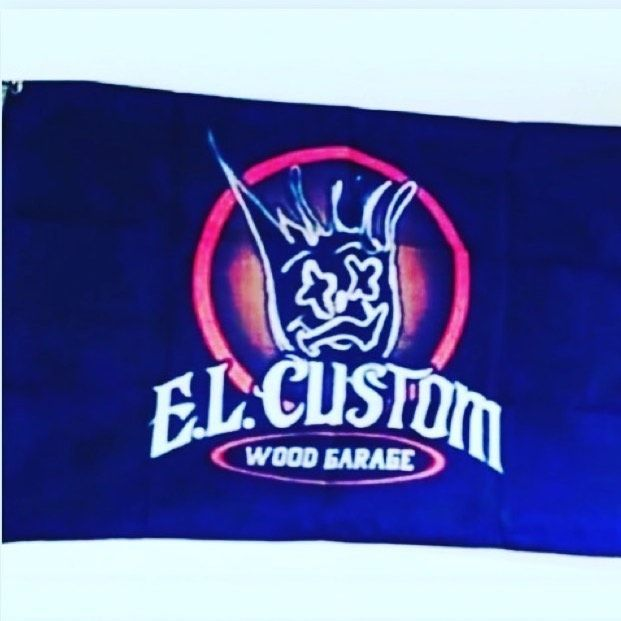 Follow him elcustomwoodgarage Woodworking Want one with your logo 5x3 2 Follow him elcustomwoodgarage Woodworking Want one with your logo 5x3 2