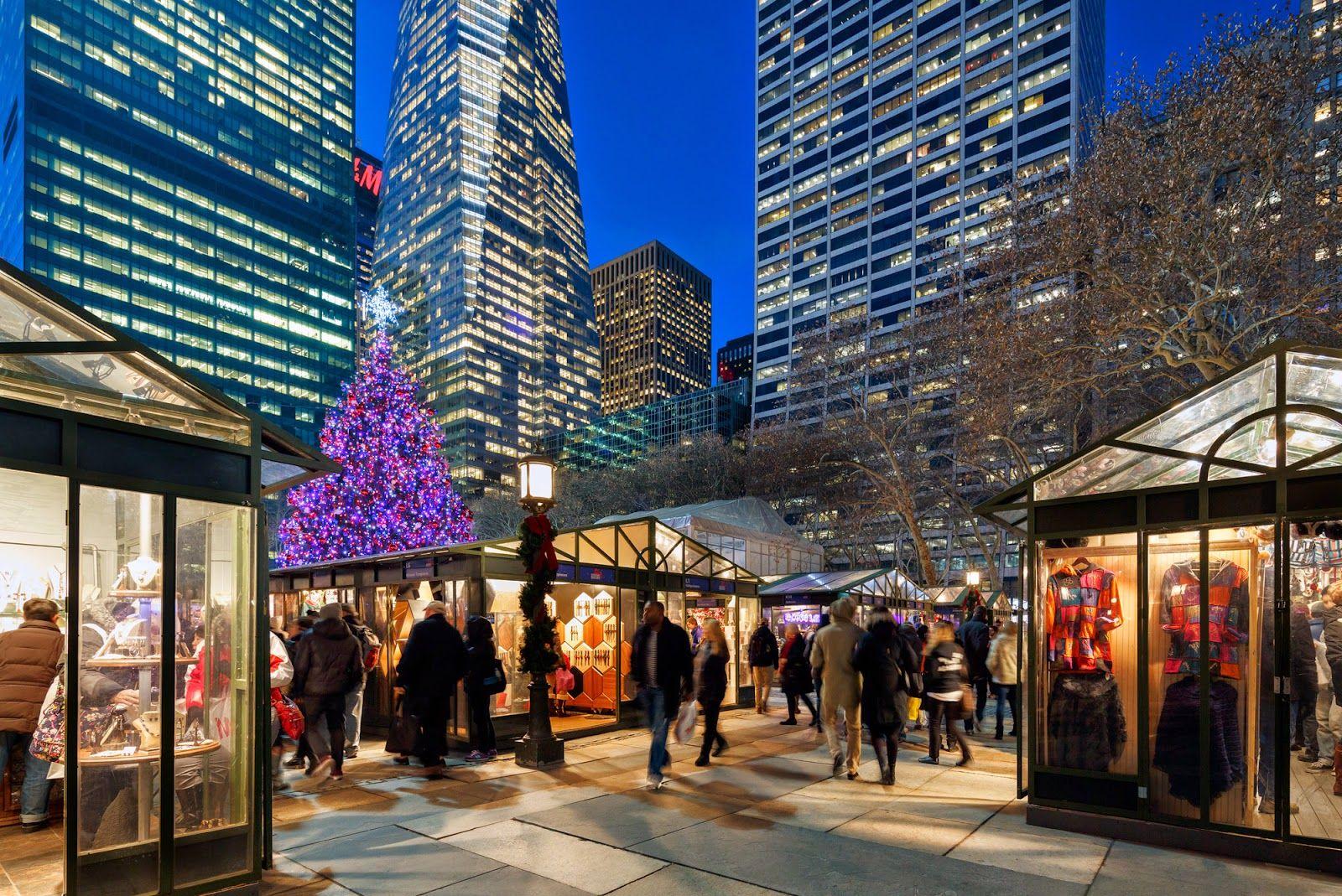 new york holiday market