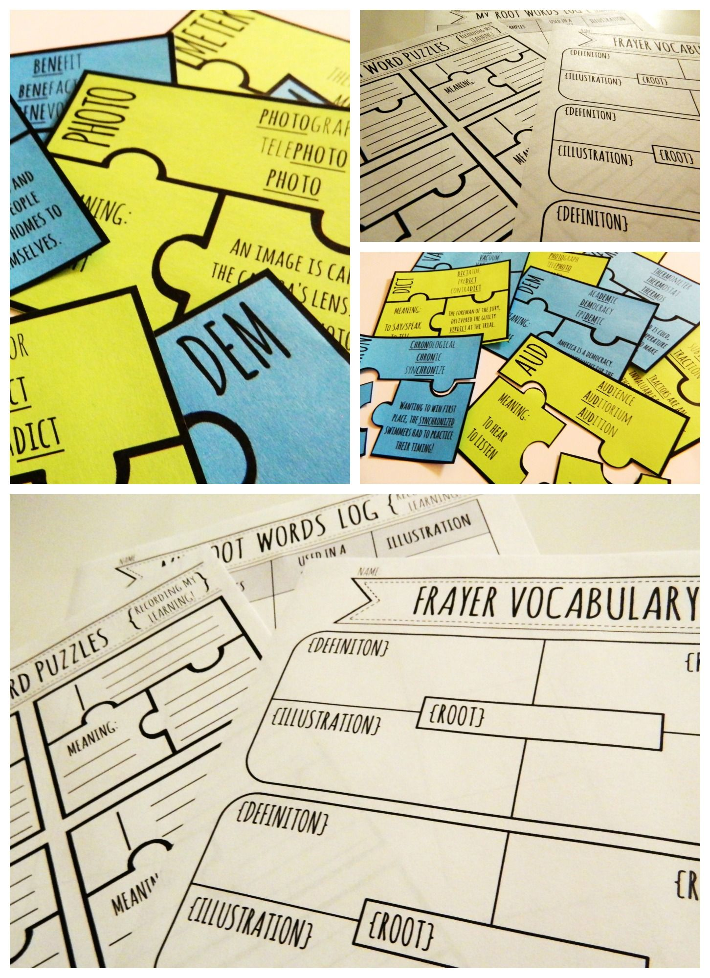 Greek And Latin Root Word Puzzles 40 Puzzles For Middle