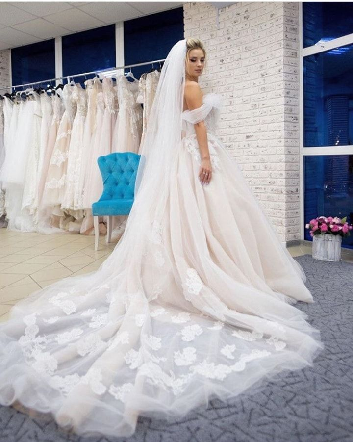 570dabb9c3c Real bride in wedding dress by Victoria Soprano New collection on website  ready to order Napoli