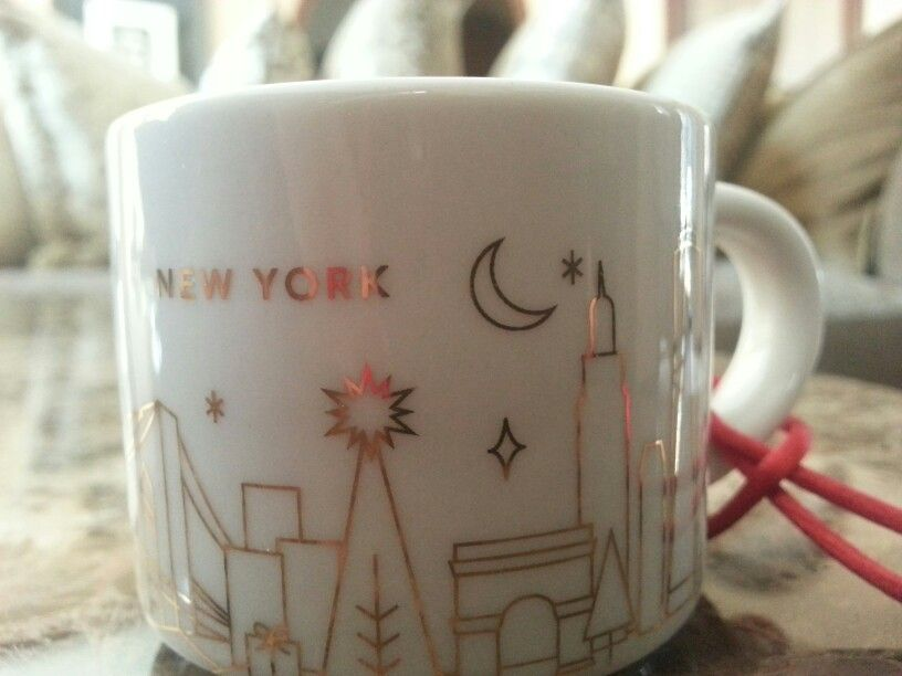 Starbucks Christmas ornament from the YOU ARE HERE collection.NYC a gift from my sweet Rhea. Thank You!