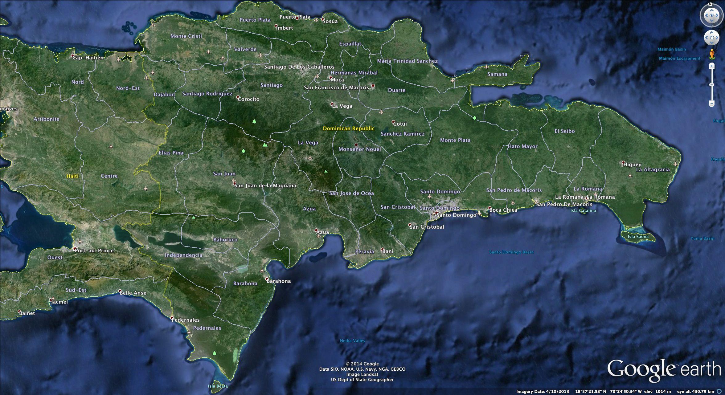 Google Earth Dominican Republic Google Earth Dominican