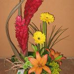 DF#3   $390, gingers,lillies,gerberas y complementos