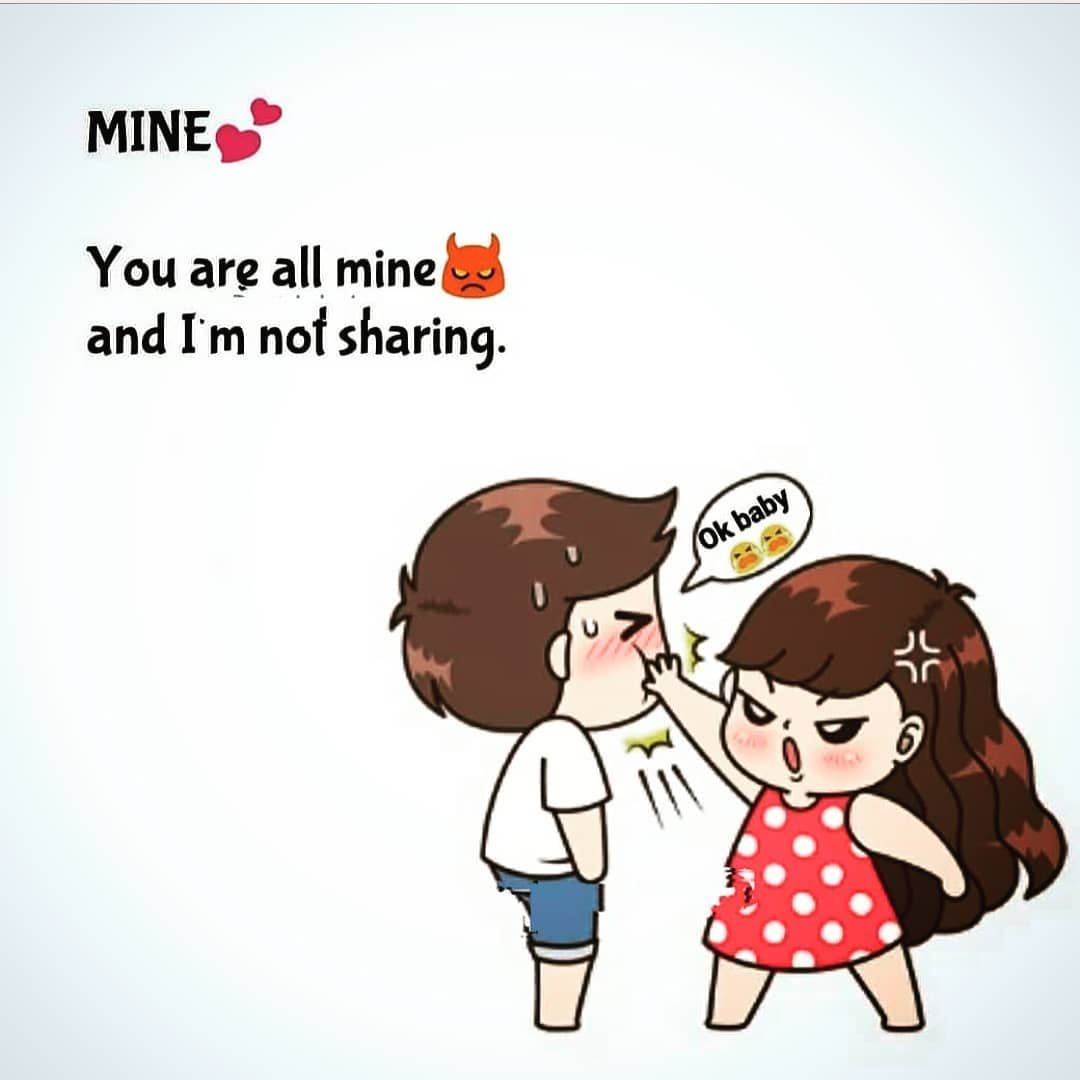 Couple Love Quotes Cartoon Images