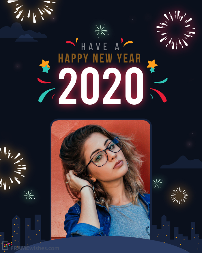Online New Year Image Editor 2020 Happy New Year Photo New Year