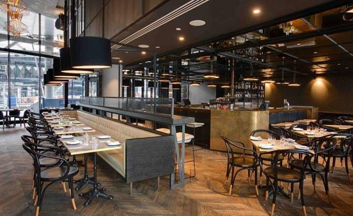 Pin de stephany amado en restaurantes pinterest - Interiores de restaurantes ...