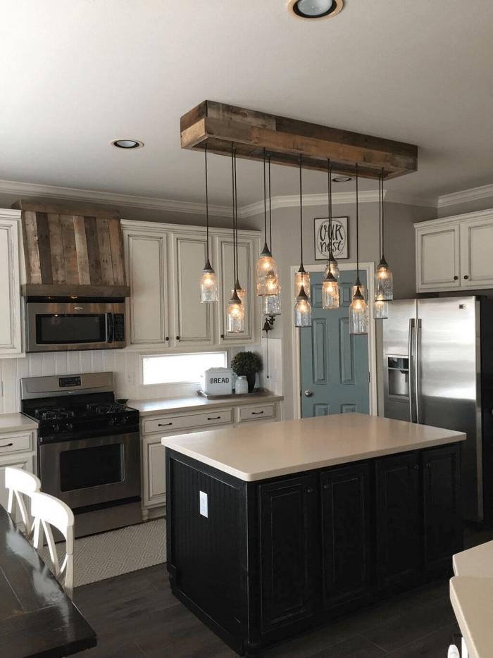 86 Farmhouse Kitchen Island Lighting Home Decor Kitchen Home Kitchens Kitchen Decor