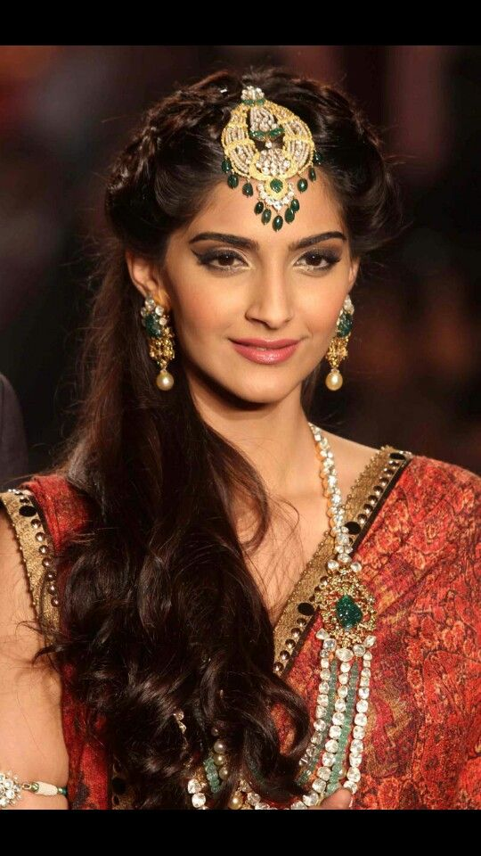 indian wedding hairstyle gallery%0A Sonam Kapoor Hairstyles  Indian Beauty Tips