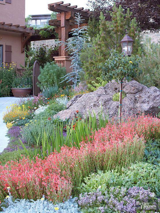 El xeriscape, un estilo de jardinera sostenible