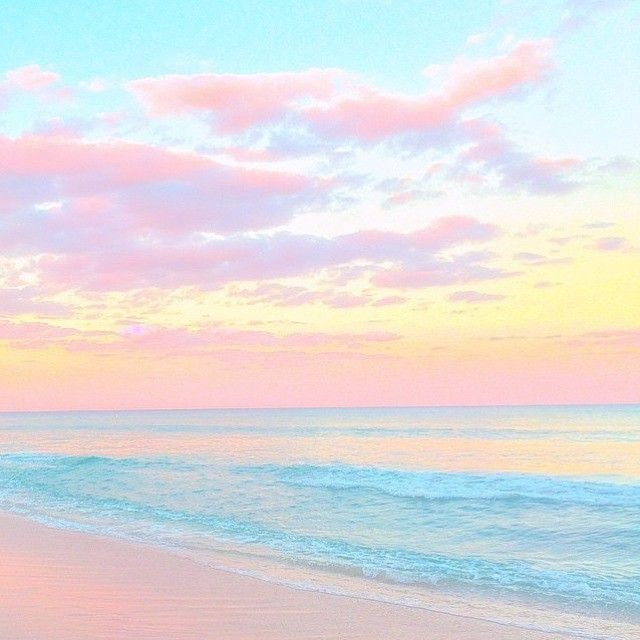 The Beach My Pink Cloud Pastel Clouds Pastel Pink Aesthetic