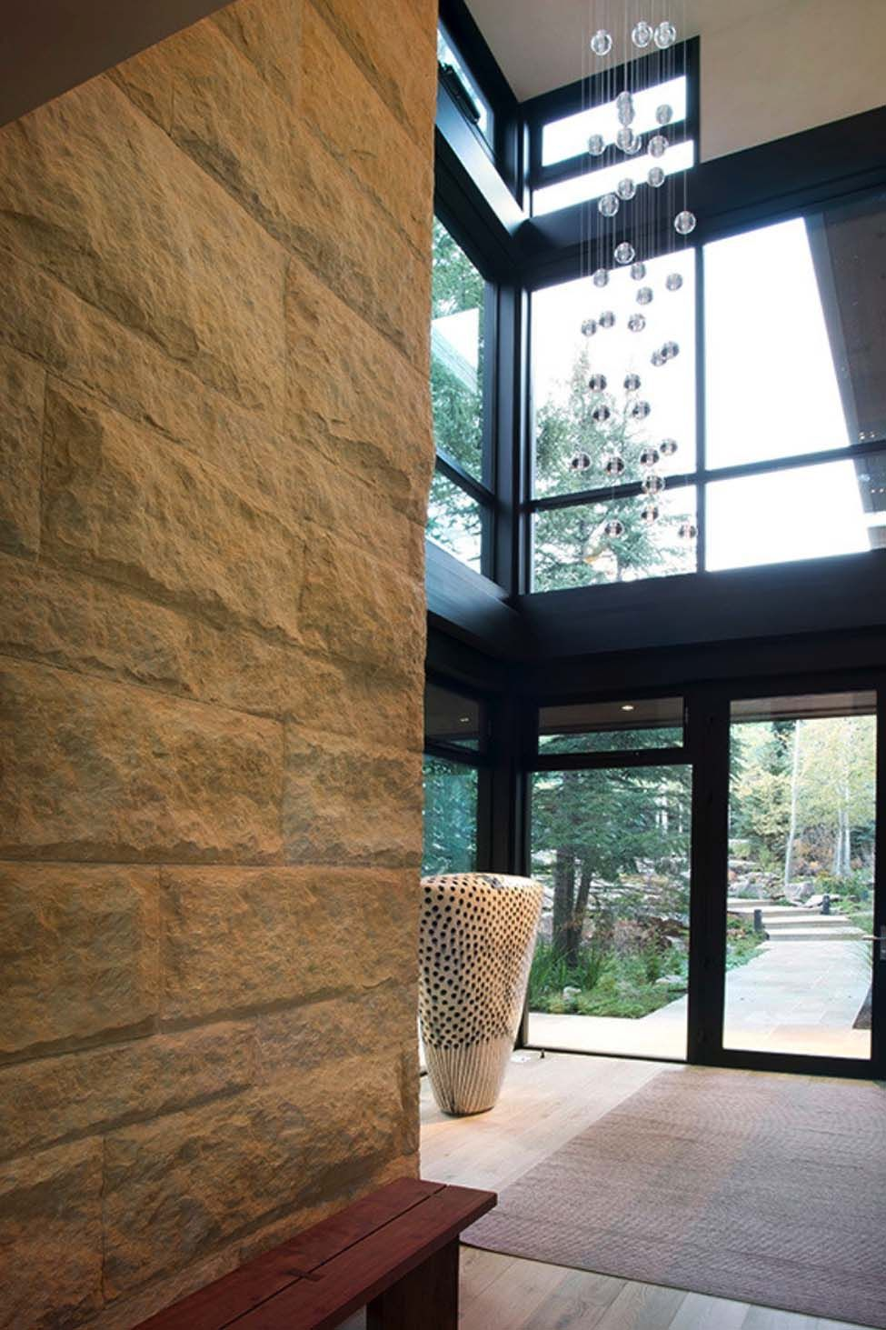 Modern mountain home inspired by rugged Colorado