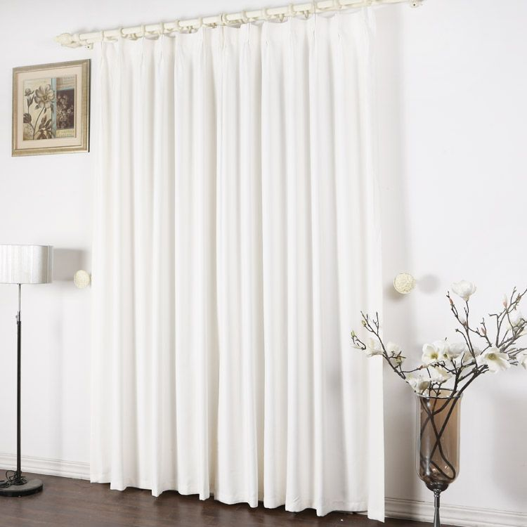 Pleasing Pure White Concise Blackout Curtains For Fancy Moment Beutiful Home Inspiration Papxelindsey Bellcom