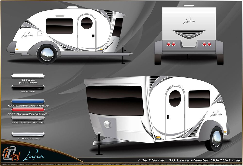 this new teardrop trailer is straight from the future wish list rh pinterest com