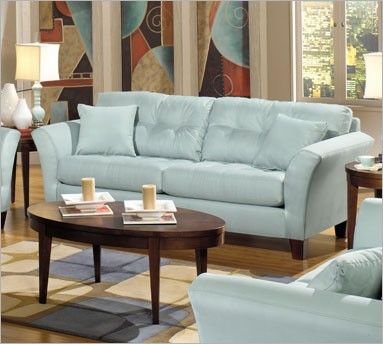 Pin By Interiormark On Sofas And Sectionals Light Blue Living Room Blue Sofas Living Room Light Blue Sofa Living Room