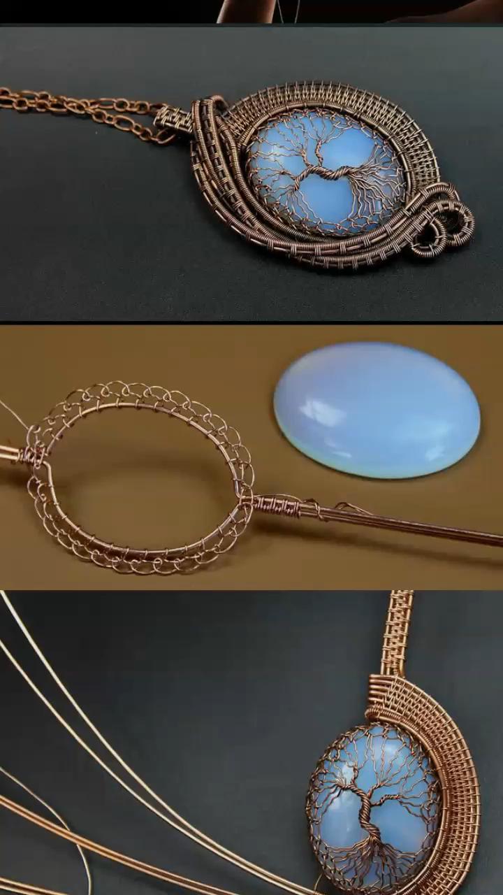 Photo of DIY, wire wrap tutorials, wire wrap, wire wrapped, wire jewelry, handmade, craft