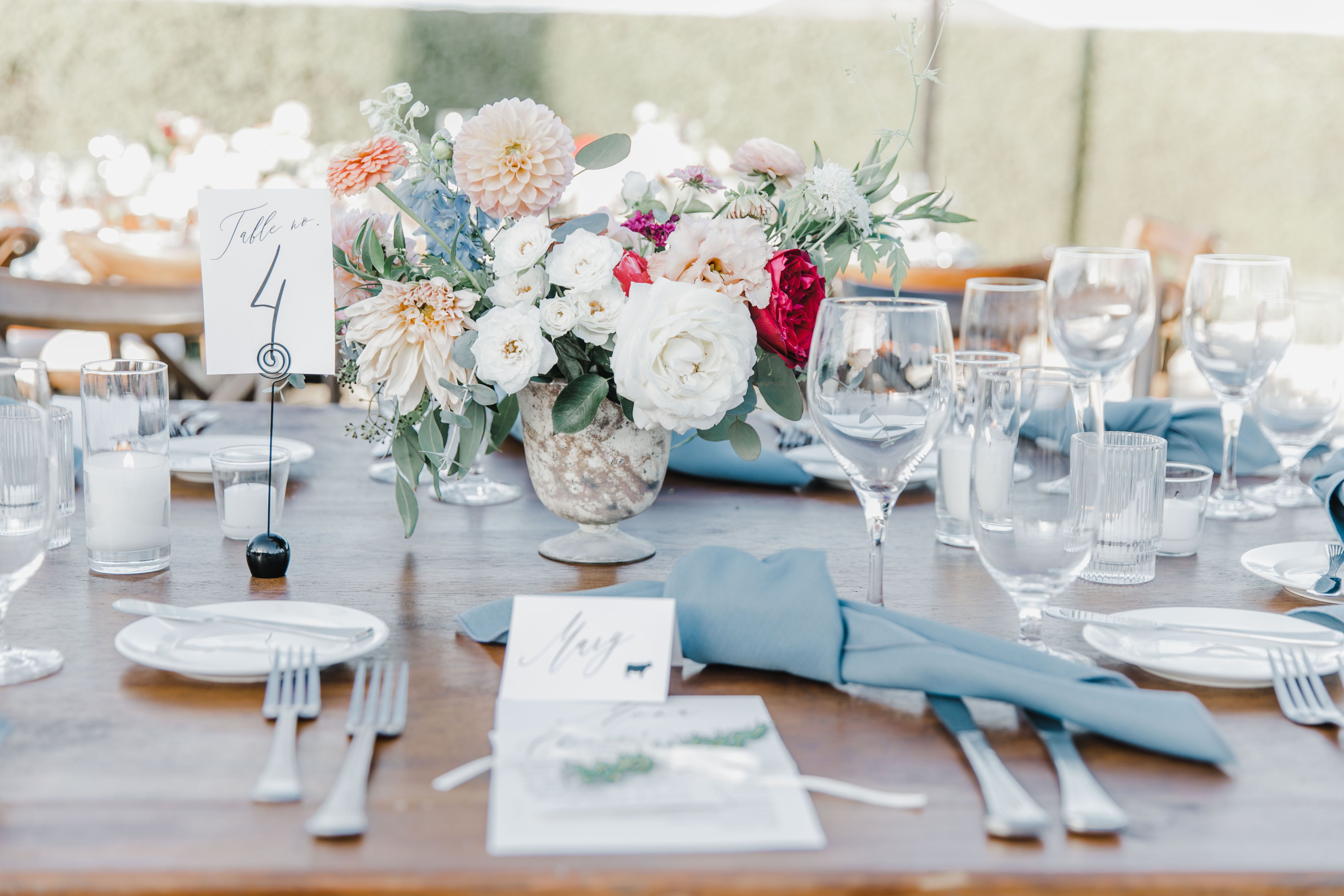 Photo by: Jessica Jaccarino Photography | #reception #tabledecor #coastcatering #catering #weddingfood #sandiego