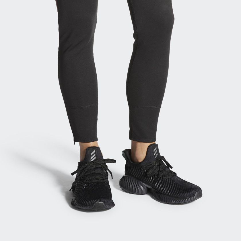 adidas alphabounce black womens