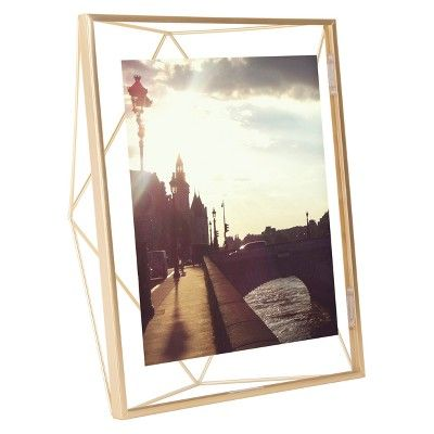 8 X 10 Prisma Photo Display Matte Brass Umbra With Images Matte Brass Wire Picture Frames Photo Displays