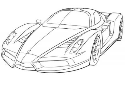 carros deportivos para dibujar faciles | cars