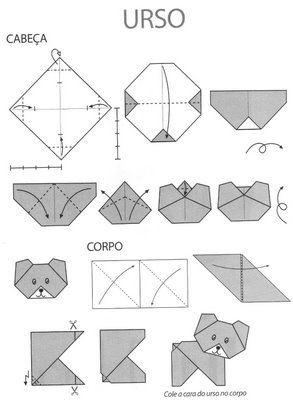 Resultado de imagen para origami paso a paso facil para ni os animales ideas bonitas - Origami grenouille sauteuse pdf ...