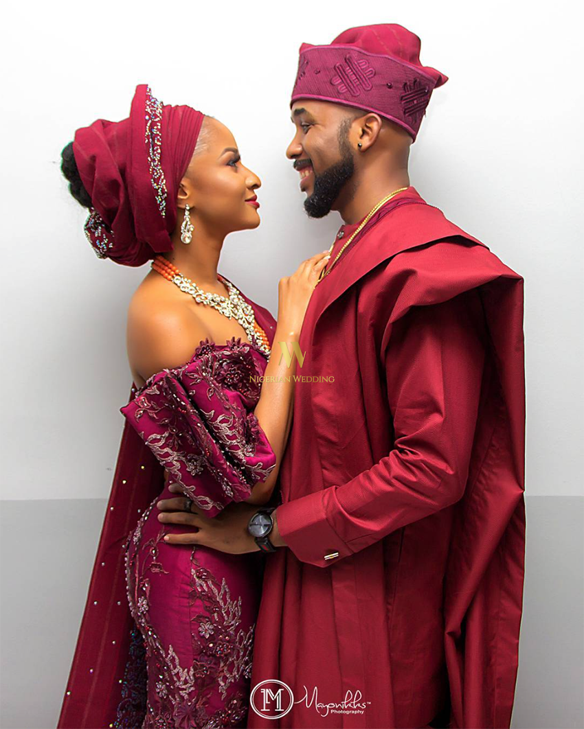 Nigerian Celebrity Wedding Banky W And Adesua Etomi Family Introduction 5