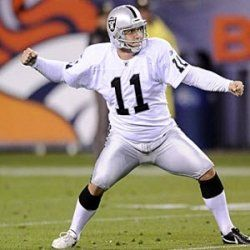 Sebastian Janakowski Oakland Raiders Super Kicker Oakland Raiders Raiders Players Raiders Football