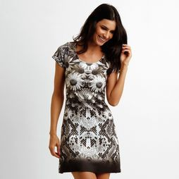 6bc57b378 Vestido Dimy Margarida Snake - Preto | My work | Formal dresses ...