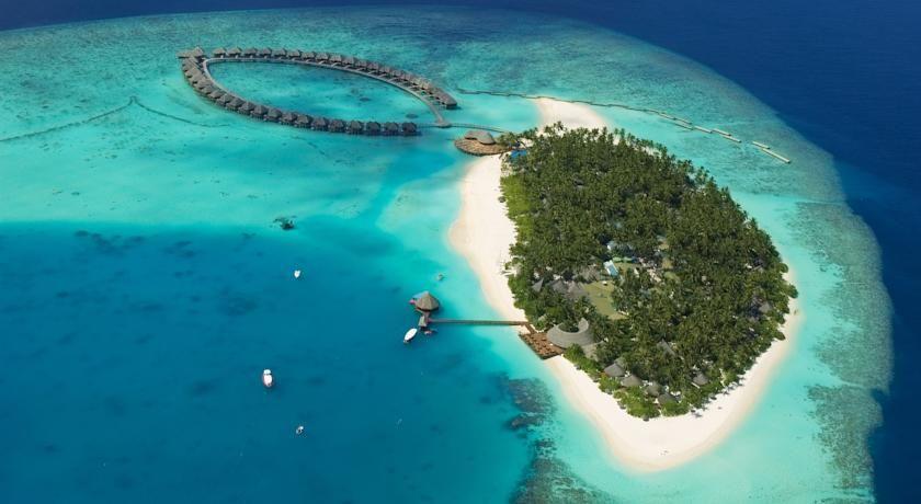 HOTEL モルディブのホテル>マーレ国際空港から水上飛行機で35分です>ヴィルー リーフ ビーチ アンド スパ リゾート(Vilu Reef Beach and Spa Resort)