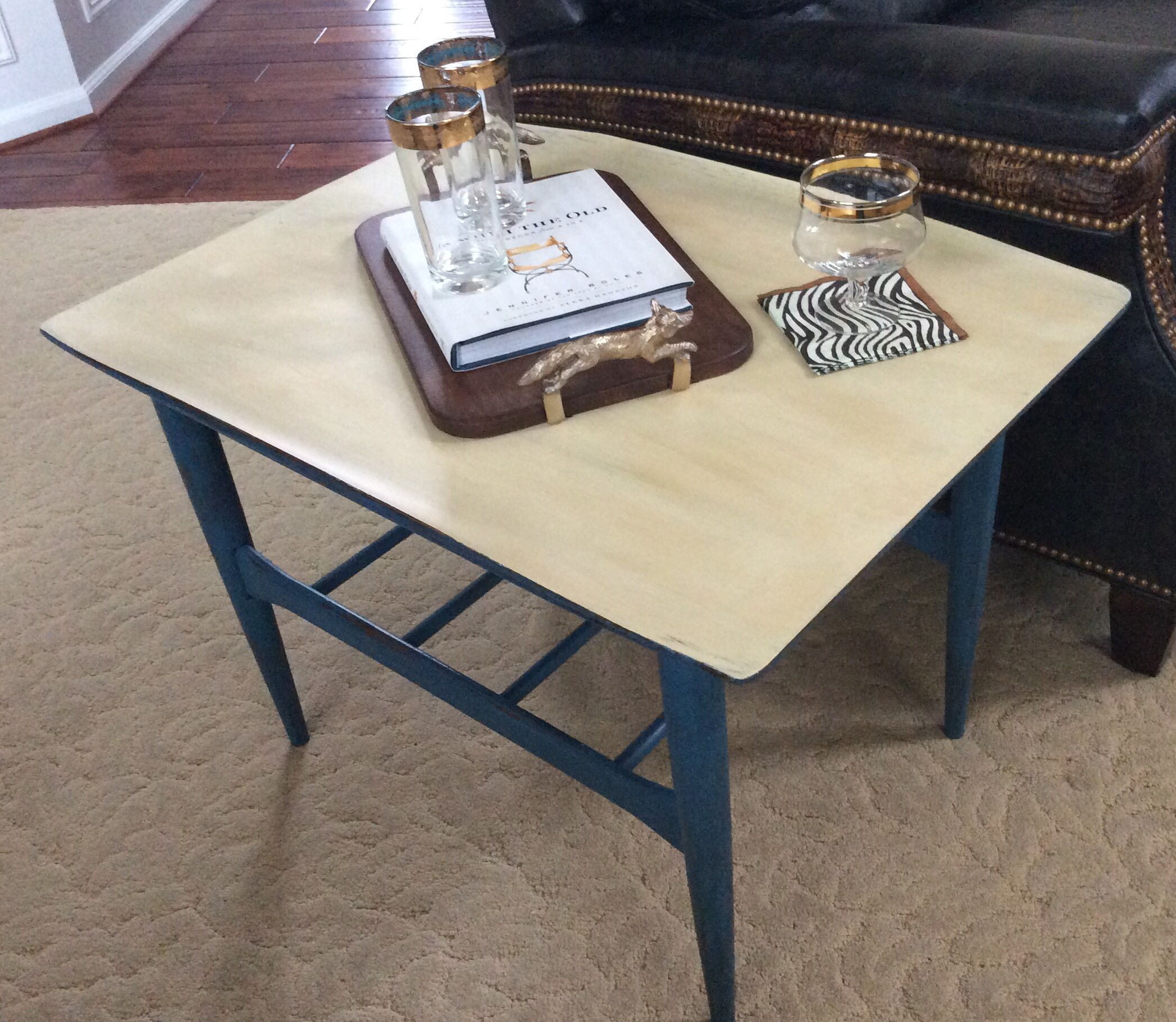 lane table in aubusson and custom color top painting furniture rh cz pinterest com