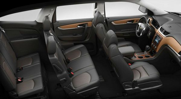 2016 Chevrolet Traverse Inside