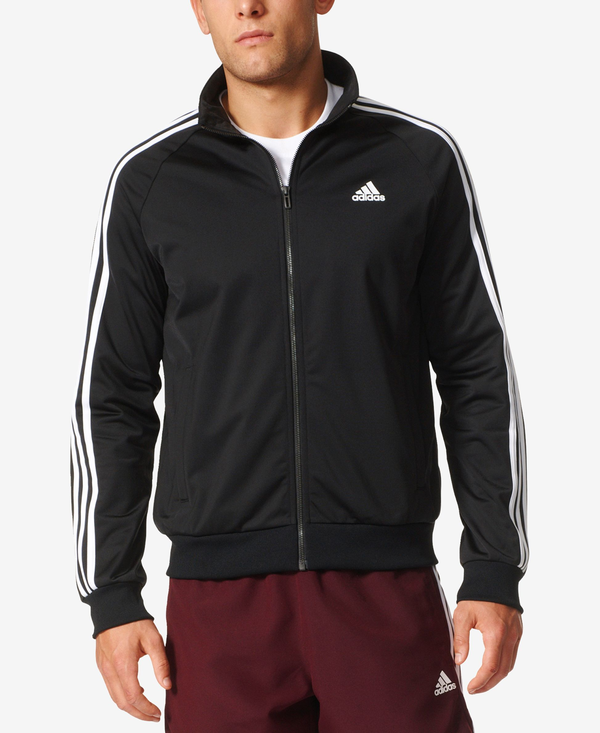 adidas Men's Essential Tricot Track Jacket | Adidas men