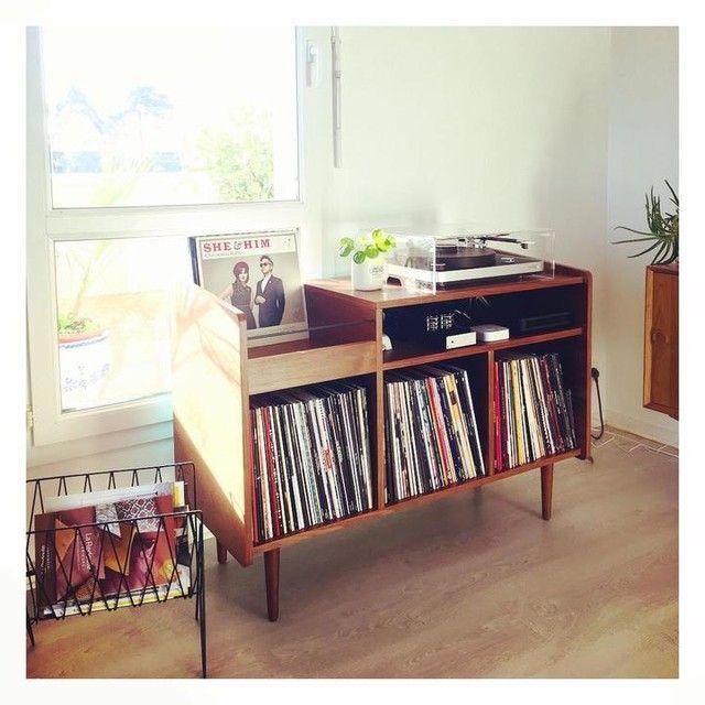 Meuble Vinyle Vintage Ronda Meuble Vinyle Meuble Hifi Meuble