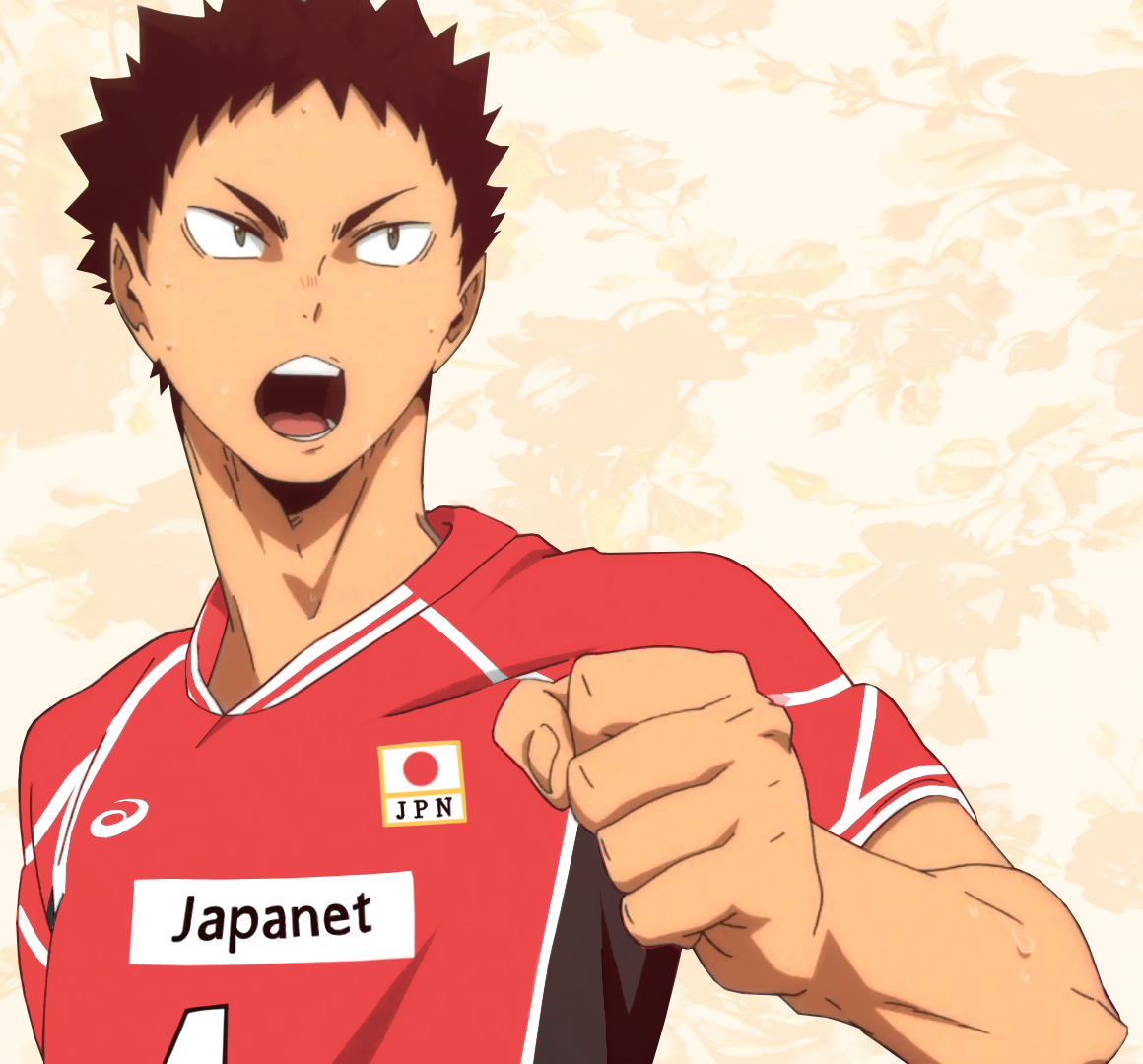 Atsumus Iwaizumi Week Day Five Team Swap Sports Day Memorable Quotes Tricot Swap Ft Iwaizumi In Japan Me Japan Volleyball Team Sports Day Iwaizumi