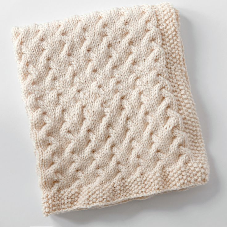 Tiny Ripples - Free Baby Blanket Knitting Pattern | Babies ...