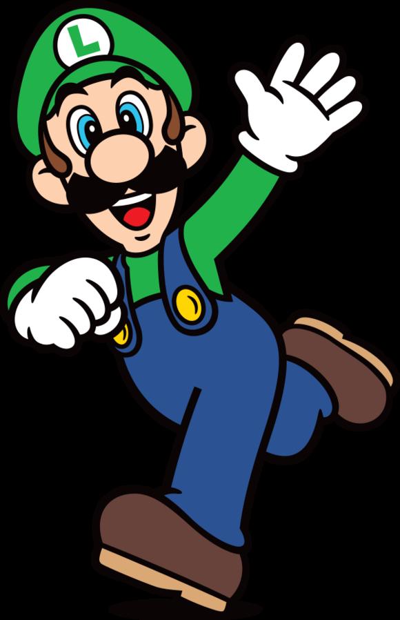 File Luigiart4 Png Super Mario Art Mario Art Super Mario Bros Party