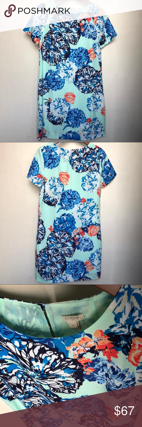 J. Crew floral midi dress NWT 👗 | Sea foam and Midi dresses