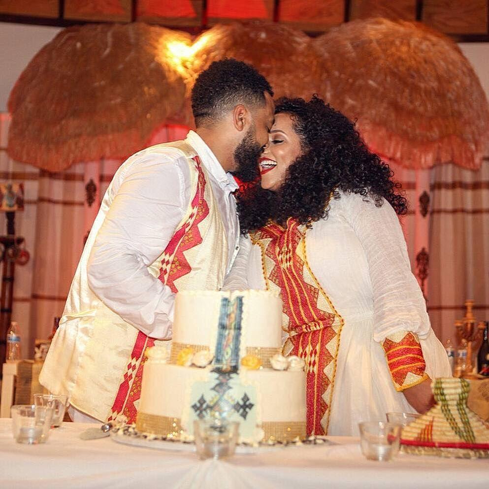New Habesha wedding, mels dresses, Er Ethiopian wedding dress Hand ...
