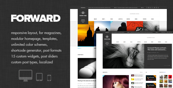 Forward - Modular Magazine Theme | safd | Pinterest | Ópera