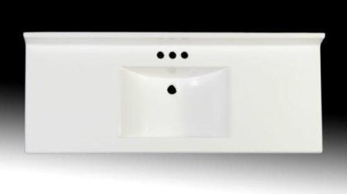 imperial 49 wide x 19 deep wave bowl vanity top at menards rh pinterest com