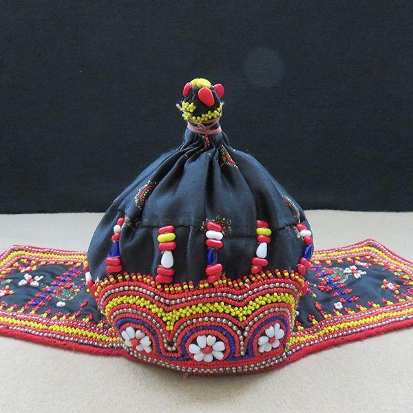 North Pakistan - Kohistan, Citral tribal child hat