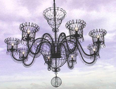 French Wire Chandelier Lighting Chandeliers Design – Wire Chandeliers