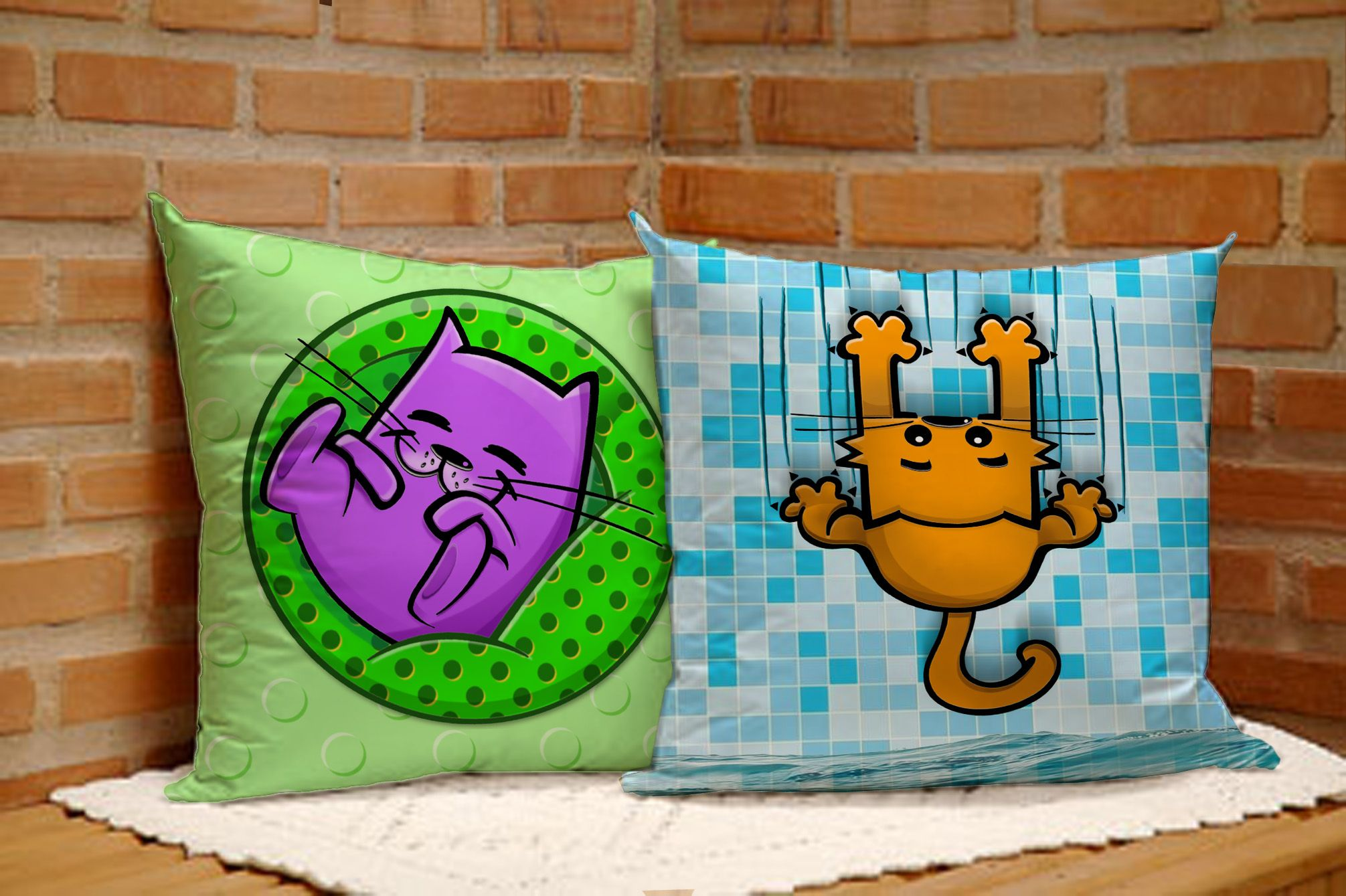 Cushions designed by Marcelo Moreira marcelomirandapinto@gmail.com