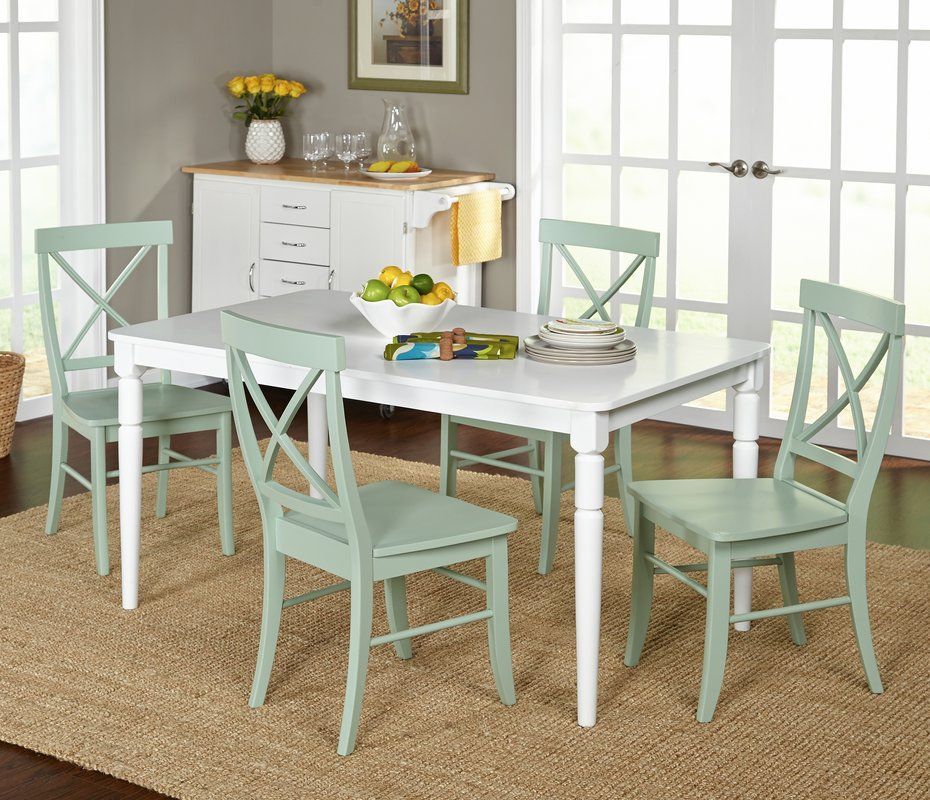 Room Brookfield 5 Piece Dining Set Wesleyville