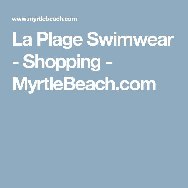 La Plage Swimwear Ping Myrtlebeach