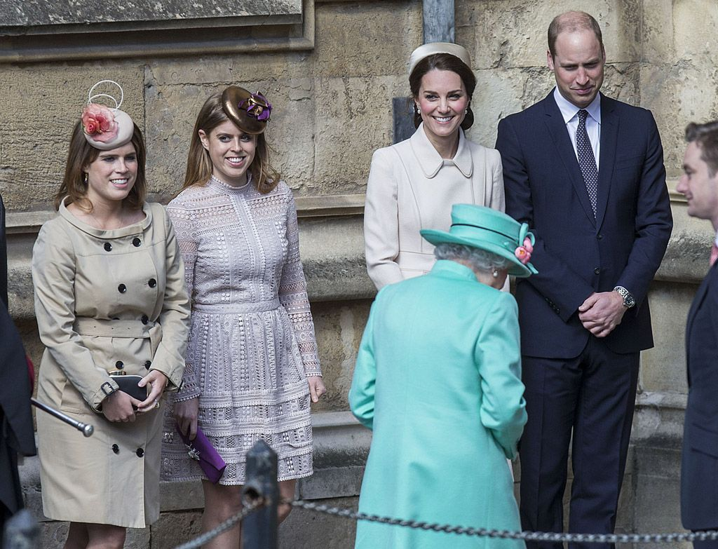 Kate Middleton\'s Easter Pumps Were Perfect to Curtsey to Queen ...