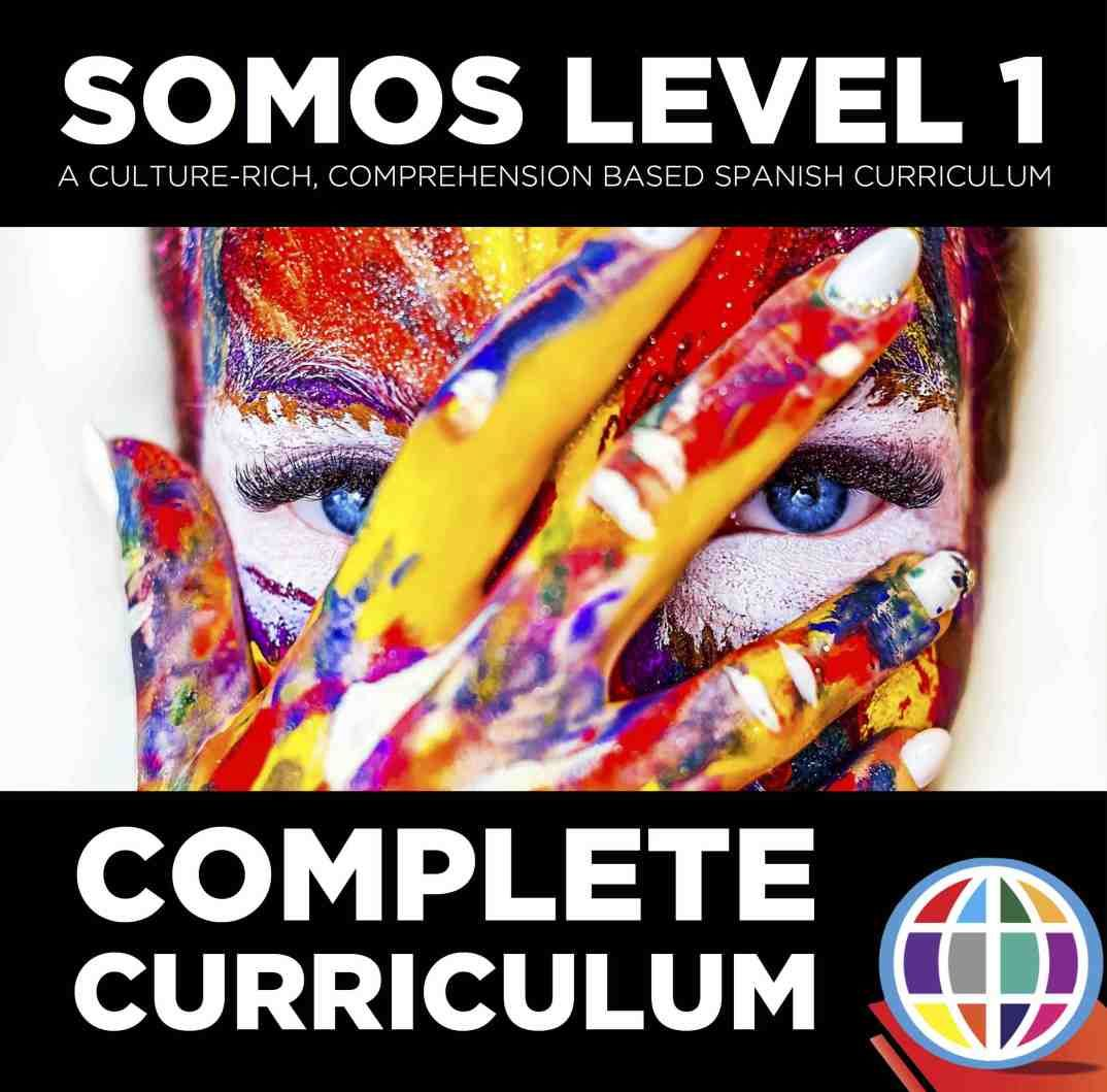 Somos Spanish 1 Complete Curriculum Bundle With Images