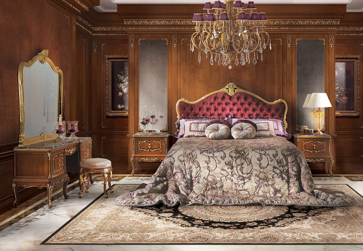 Luxury italian furniture for classic and elegant