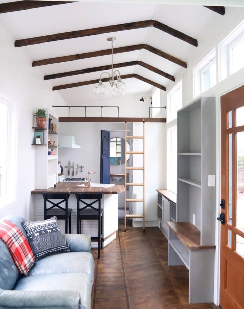 pacific getaway tiny house for rent in battle ground washington rh pinterest com