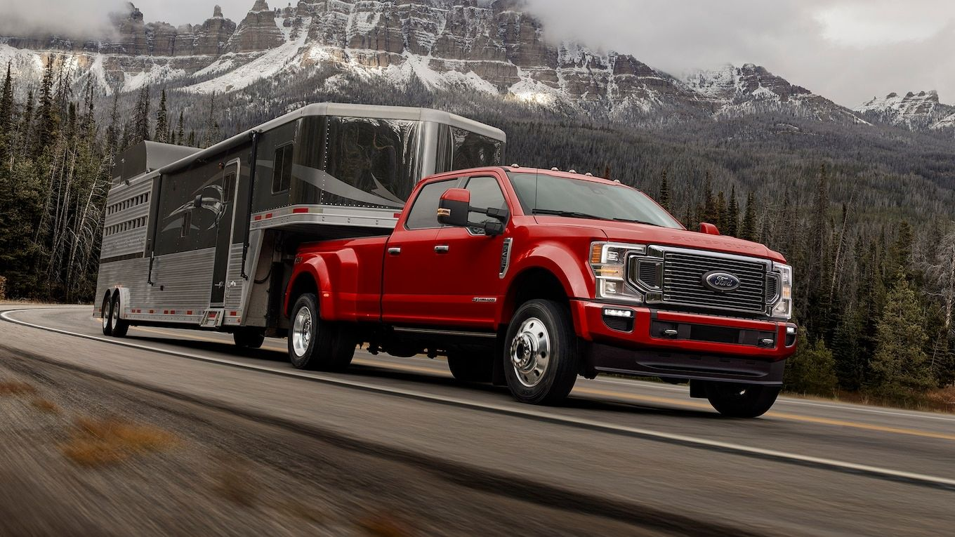 The 2020 Ford F Series Super Responsibility Showin At The 2019 Chicago Auto Show Marks An Upgrade For Ford S Ford Excursion Ford F Series Ford F350 Super Duty